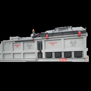 The Hurikan 700 - An extra-large, top-loading incinerator