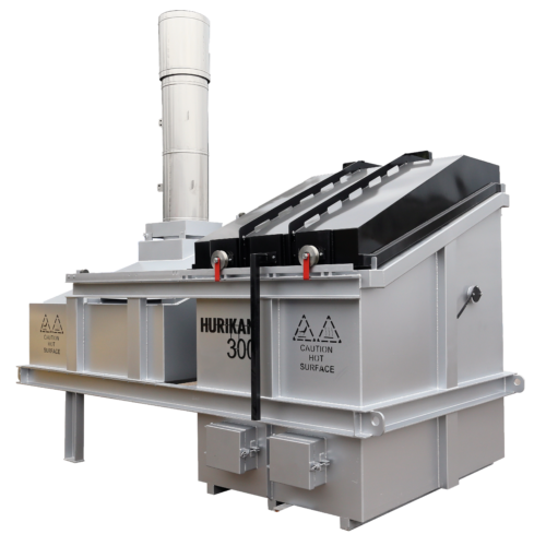 The Hurikan 300 - ideal bio-secure waste incineration