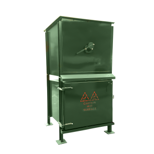 The Volkan 300 - A purpose built, front loading pet cremation incinerator