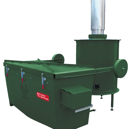 The Volkan 1000 - highly reliable, versatile and large capacity incinerator