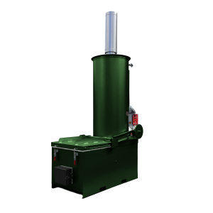 The Volkan 200 - This machine is ideal for those requiring regular incineration