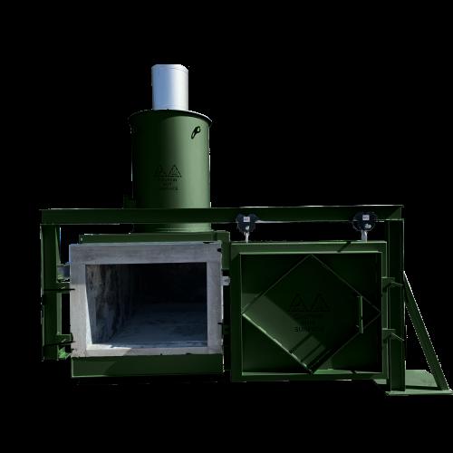 The Volkan 2000 - High reliable incinerator