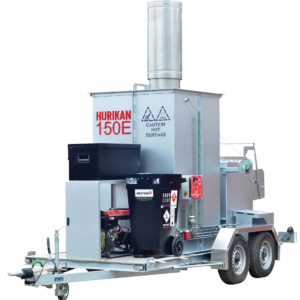 The Hurikan 150 - ideal for swift and bio-secure incineration